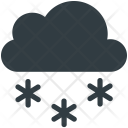 Cloud Snow Fall Icon