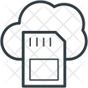 Cloud Network Sd Icon