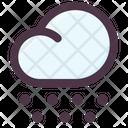 Cloud Snow Season Icon