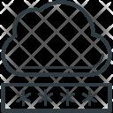 Cloud Security Password Icon