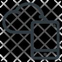 Cloud Computing Tablet Icon