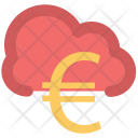 Cloud Network Currency Icon