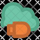 Cloud Computing Usb Icon