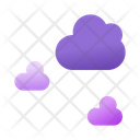 Cloud Computing Cloud Forecast Icon