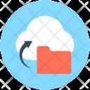 Cloud Folder Computing Icon
