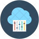 Cloud Setting Maintenance Icon
