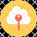 Cloud Security Computing Icon