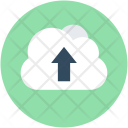 Cloud Upload Uploading Icon