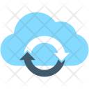 Cloud Sync Loading Icon
