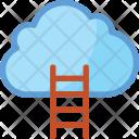 Cloud Climb Ladder Icon