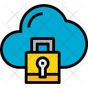 Cloud Security Safety Icon