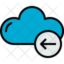 Cloud Arrow Cloudy Icon