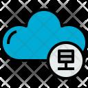 Cloud Data Cloudy Icon