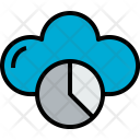 Cloud Database Cloudy Icon