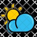 Cloud Autumn Sun Icon