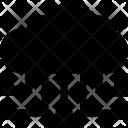 Cloud Hierarchy Network Icon