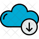Cloud Download Cloudy Icon