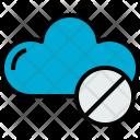 Cloud Error Cloudy Icon