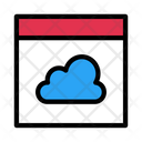 Cloud Computing Web Icon