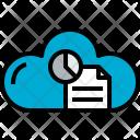 Cloud Document Data Icon