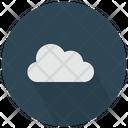 White Cloud Icon