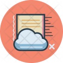Cloud Data Business Icon