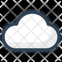 Cloud Storage Weather Icon
