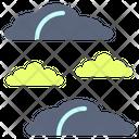 Cloud Group Haze Icon