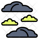 Cloud Group Haze Icon