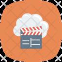 Cloud Multimedia Cinema Icon
