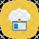 Cloud Card Id Icon