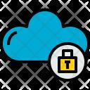 Cloud Lock Cloudy Icon