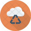 Cloud Dustbean Recover Icon