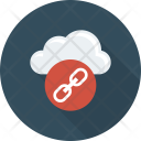 Cloud Link Network Icon
