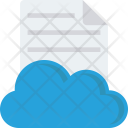 Cloud Document File Icon
