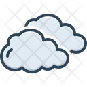 Cloud Become Cloudy Cloud Over Icon