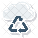 Cloud Recover Recycle Icon