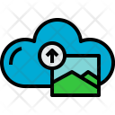 Cloud Picture Upload Icon