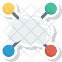 Cloud Devices Share Icon