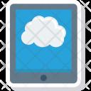 Cloud Computer Ipad Icon
