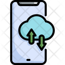 Cloud Computing Storage Icon