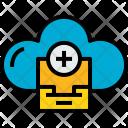 Cloud Stroage Add Icon