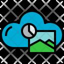 Cloud Picture Data Icon