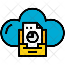 Cloud Stroage Document Icon