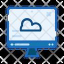 Website Cloud Sky Icon