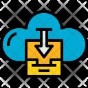 Cloud Stroage Download Icon