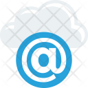 Cloud Data Email Icon