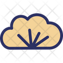 Cloud Christmas Cloud Branch Icon