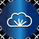 Cloud Christmas Cloud Branch Icon