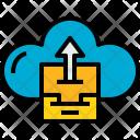 Cloud Stroage Upload Icon